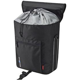 KlickFix Cita GTA Gepäckträgertasche schwarz/silber
